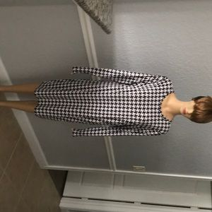 New Micheal Micheal kors houndstooth dress size XL
